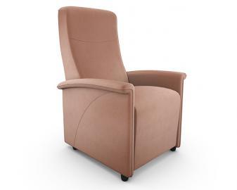 Fauteuil relax 1 moteur MERIBEL, Confort et Taille du fauteuil: Confort Ferme - Tail