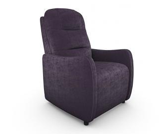 Fauteuil relaxation BALI manuel, Revetement fauteuil: Tissu Velours, Coloris fauteui