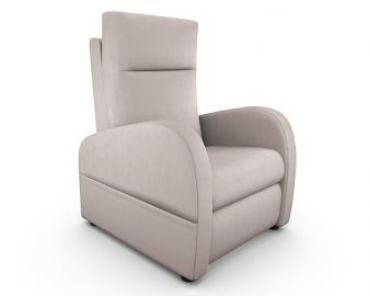 Fauteuil relaxation manuel FIDJI, Revetement fauteuil: Microfibre, Coloris fauteuil: