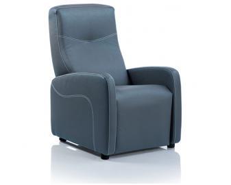 Fauteuil relaxation manuel HAWAI, Revetement fauteuil: Tissu Velours, Coloris fauteu