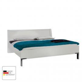 Lit futon Dubai I - Blanc alpin - 140 x 190cm - Sans éclairage, Wiemann