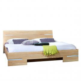 Lit futon Yukon - Chêne brut de sciage - 180 x 200 cm, Wimex