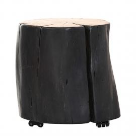 Table d'appoint Groovy III - Acacia massif, ars manufacti