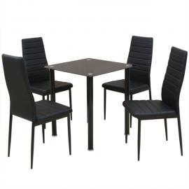 Vidaxl Table basse creux noir