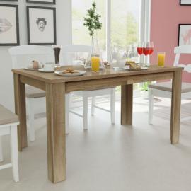 Vidaxl Table basse en bois d'acacia massif brossé 110x60x40 cm