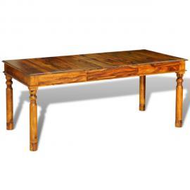 Vidaxl Table style colonial en palissandre massif 180 x 85 76 cm