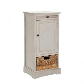 Commode Raven - Pin massif - Taupe / Beige, Safavieh