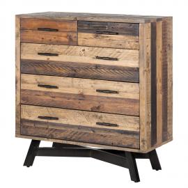 Commode Tamati - Pin massif, ars manufacti