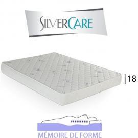 Inside 75 Matelas 120cm Memory 50Kg/m3 mémoire de forme épaisseur 18cm pour canapé convertible