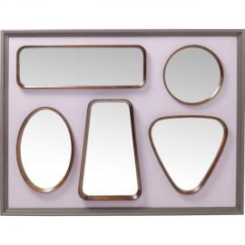 Karedesign Miroir Art Shapes 170x130cm Kare Design