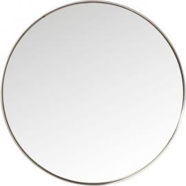 Karedesign Miroir Curve rond inox 100cm Kare Design