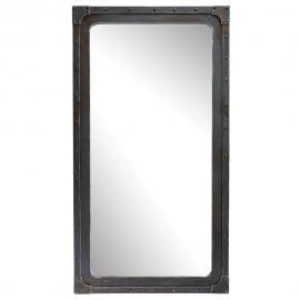 Miroir effet métal H 167 cm GUSTAVE