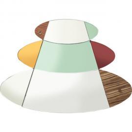 Karedesign Miroir Metamorphosis Circles 107x150cm Kare Design