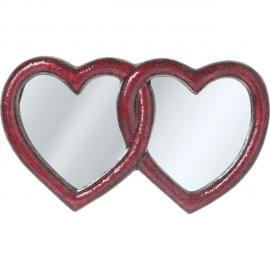 Karedesign Miroir Mosaik Double Heart 100x165 cm Kare Design