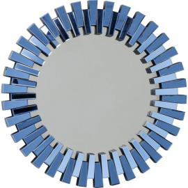 Karedesign Miroir Sprocket bleu 92cm Kare Design