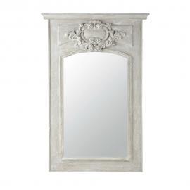 Miroir trumeau en bois gris H 180 cm GARANCE