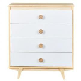Altobuy Nowinka - Commode 4 Tiroirs