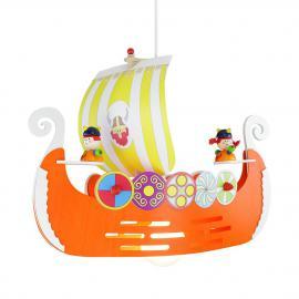 Suspension avec bateau viking