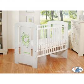 Autre Lit et parure de lit bébé complète Glamour gris et rouge 120 60
