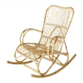 Rocking chair en rotin Louisiane