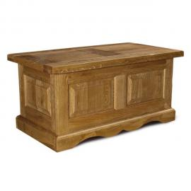 HELLIN Table basse bar La BRESSE - bois chêne massif