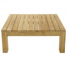 Table basse de jardin en teck L 102 Cadaques