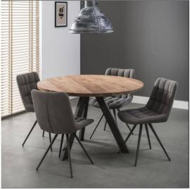 Inside 75 Table repas Edinson 120cm en acacia massif