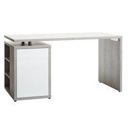JYSK Bureau ULLITS grijs/wit hoogglans
