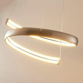 Risto - LED hanglamp in nikkel