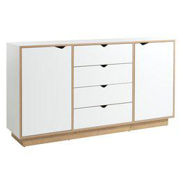 JYSK Dressoir MAMMEN 2 deurs wit