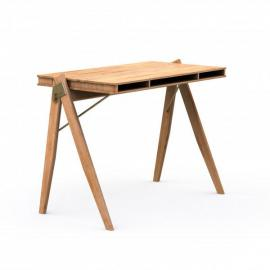 We Do Wood Field Bureau Desk - Bamboe hout - B95 x H75 cm- Buro - Secretaire - Houten meubels - Scandinavisch design