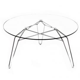 Kubikoff Diamond salontafel - Italiaanse design glazen salontafel