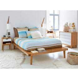 Cama plataforma de pino macizo + somier Jimi