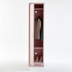 Armario vestuario americano 1 puerta de metal, Hiba