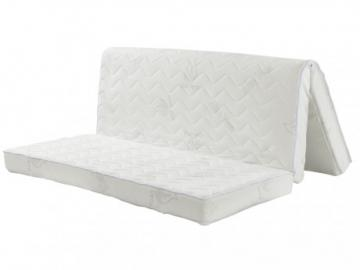 Colchón de espuma para sofá cama acordeón con aloe vera FIESTA de NATUREA 12cm de grosor - 140x190cm