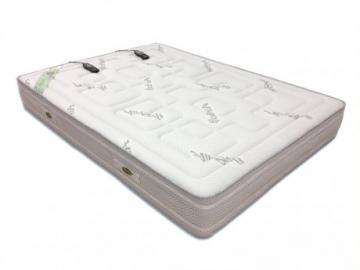 Colchón de masaje de lujo con memoria de forma de NATUREA - 140x190 cm