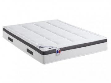 Colchón con memoria de forma ALTESSE de DREAMEA - Grosor 25 cm - efecto cubre colchón - 140x190 cm