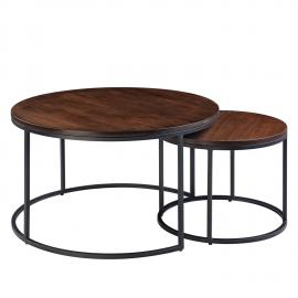 Tables basses Marias (lot de 2)