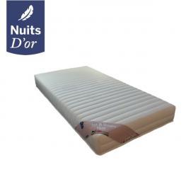 Nuits D'OR Up Visco Matelas 2x 90x200 pour Sommier électrique ou mécanique - Hauteur 20 Cm