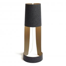 Petit lampadaire design Mia XL graphite/stone