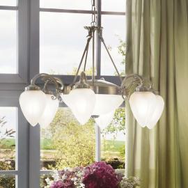 Suspension classique Impery à 8 lampes