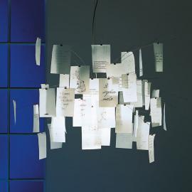 Suspension ornée de bouts de papier Zettel'z 5
