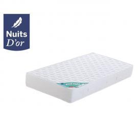 Nuits D'OR Goodnight Matelas 80x190 Ferme Densité 35 Kg/m3 - 21 Cm - Orthopédique + Oreiller à Mémoire de Forme valeur 89