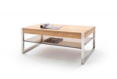 Migel oak - table basse vintage