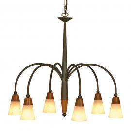 Suspension STELLA à 6 lampes