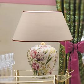 Lampe à poser Living inspiration florale