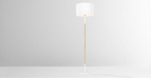 Made Essentials – Kyle, lampadaire, blanc