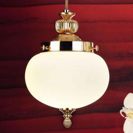 Suspension en verre Ophelia à une lampe