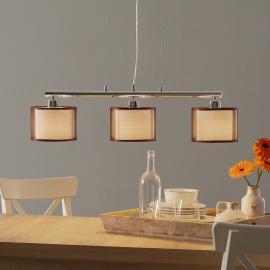 Suspension à 3 lampes Bonnie pour table à manger