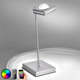 Lampe à poser LED Fisheye adaptée à ZigBee
